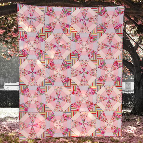 Whirl - Free Quilt Pattern