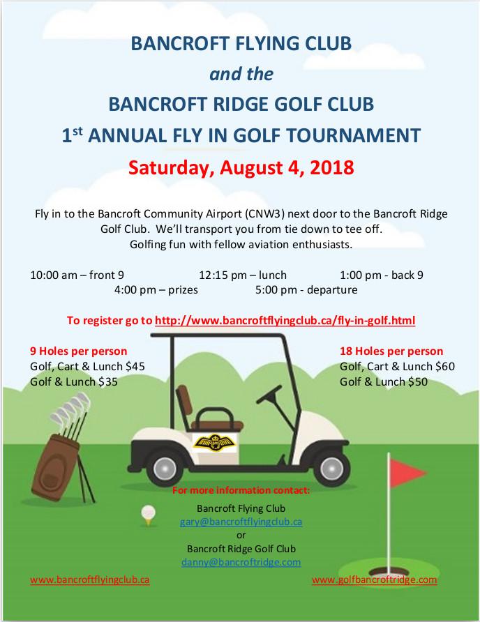 COPA Flight 8 Ottawa: Bancroft Flying Club Fly In Golf Tournament on dallas golf, louisville golf, calgary golf, chicago golf,