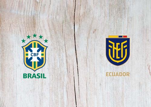 Brazil vs Ecuador -Highlights 05 June 2021