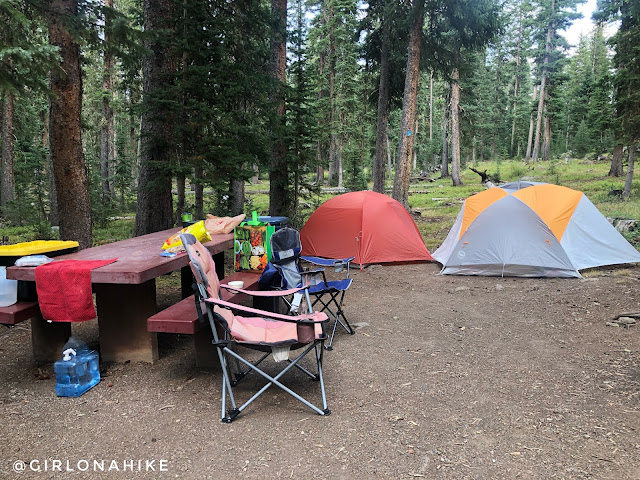 Hiking the Crag Crest Trail, Grand Mesa, Colorado, Cobbett Lake Campground