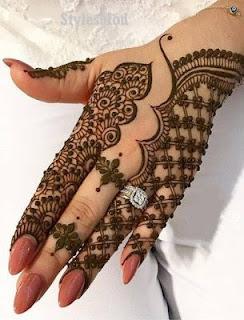 Arabic Mehendi Design New Style 2020