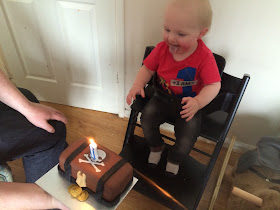 Jacob 1st birthday cake