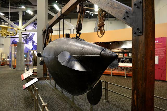 Подводная лодка времен Гражданской Войны