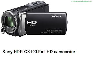 Sony HDR-CX190 Full HD camcorder consumer review