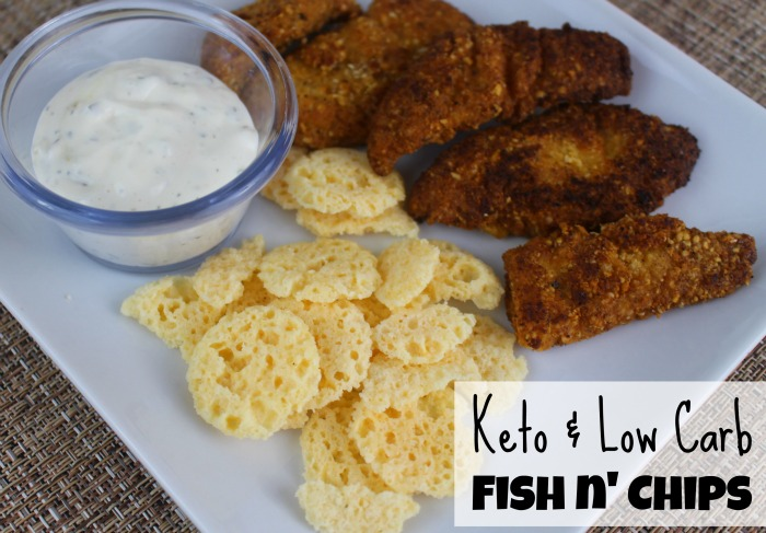 Keto low carb fish n 39 chips first time mom and losing it for Low carb fish breading