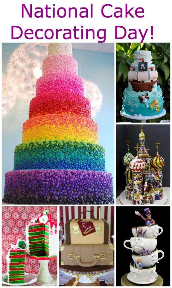 National Cake Decorating Day Wishes Images download