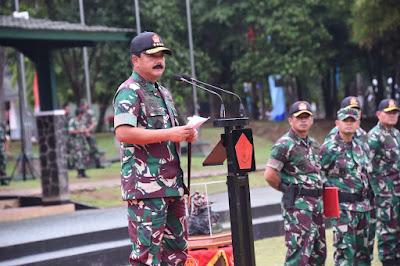 """Panglima TNI : Gunakan Filosofi """"Ala Bisa Karena Biasa"""""""