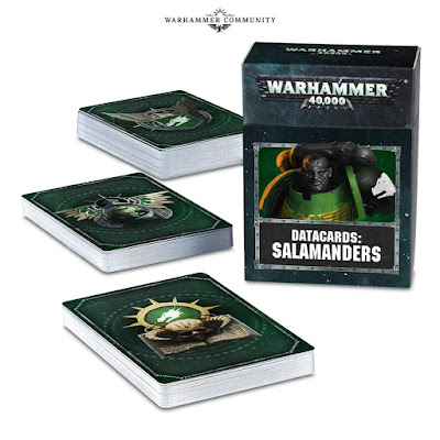 Datacards Salamandras