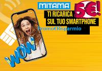 Logo Mitama ti ricarica : Spendi & Riprendi una ricarica da 5€ !Premio certo