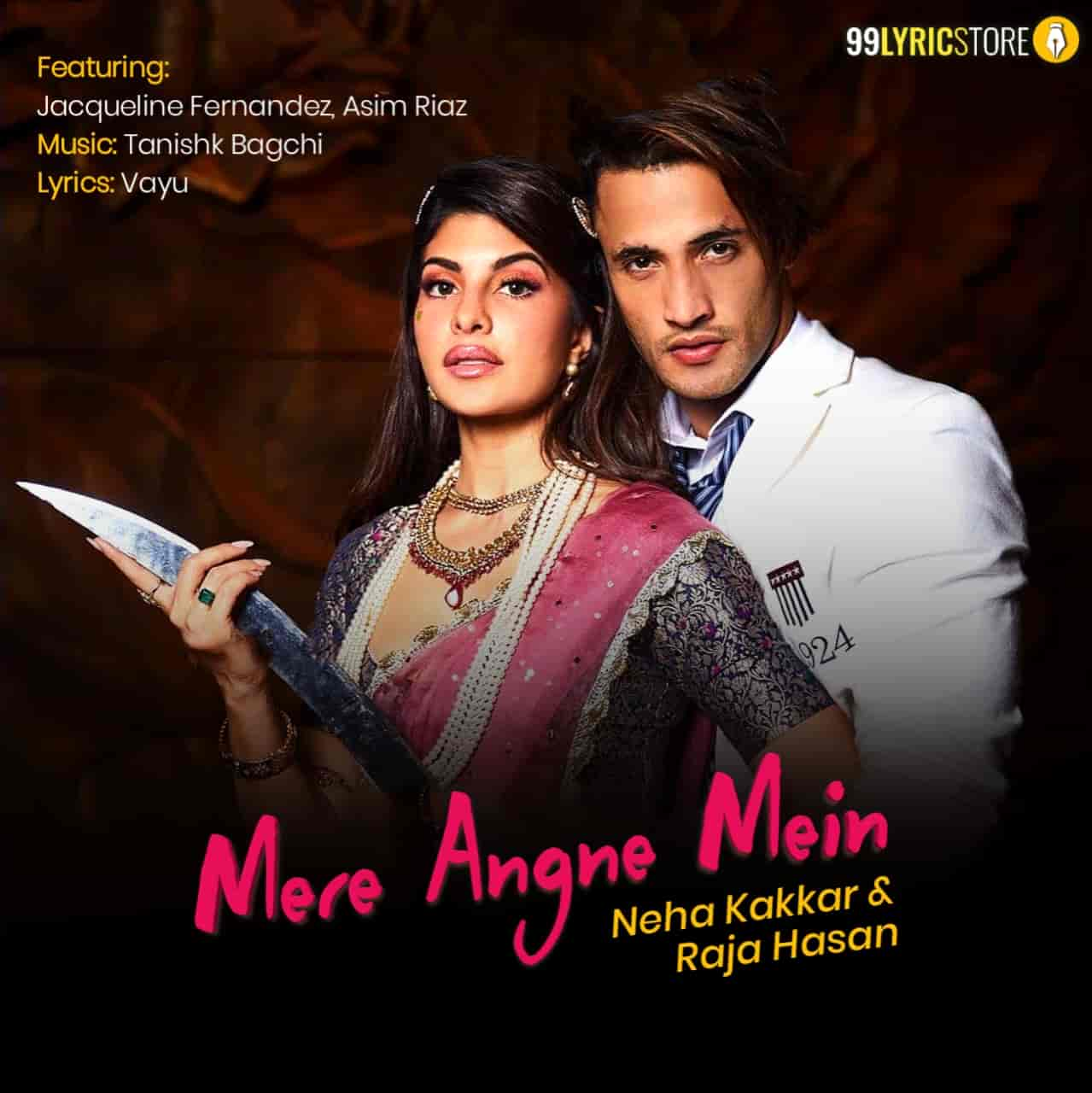 Mere Angne Mein Song Images By Neha Kakkar featuring Jacqueline Fernandez