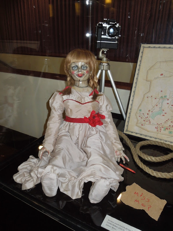 Conjuring Annabelle doll prop