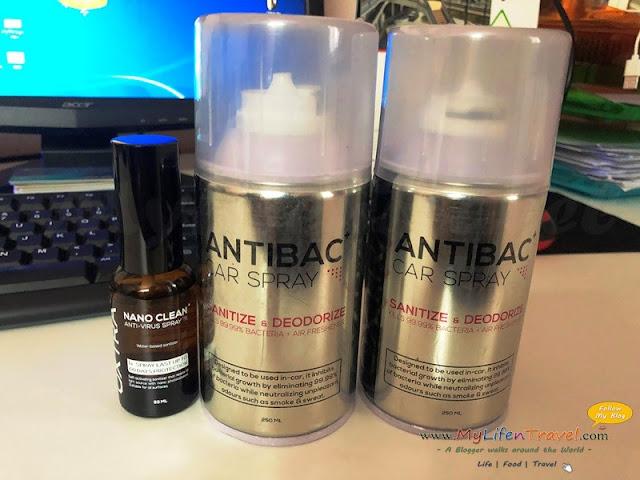 Oxtra Nano Clean Spray