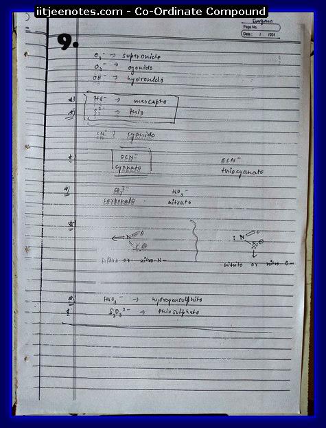 coordinate compound9