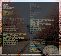 One Love Original Music Sheet Letter Notes