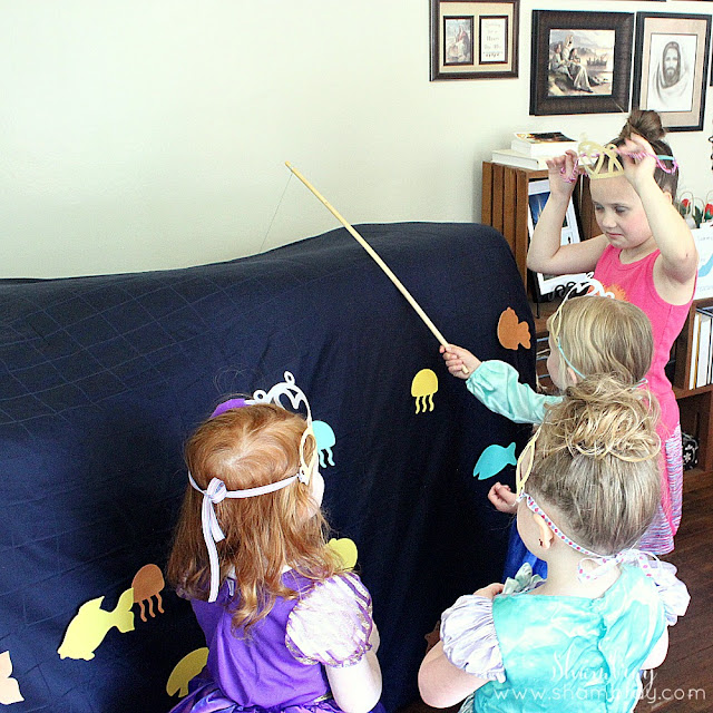 Princess Birthday Party-Games
