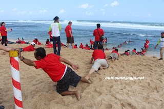 outbound pantai sundak jogja
