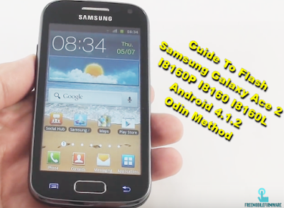 Guide To Flash Samsung Galaxy Ace 2 I8160P I8160 I8160L Android 4.1.2 Odin Method