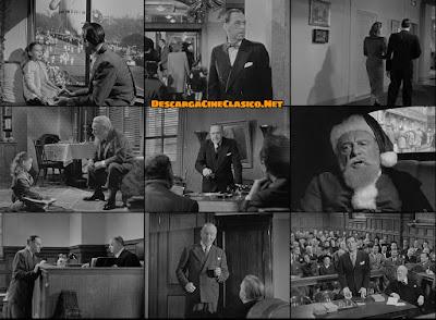 Capturas: De ilusión también se vive(1947) Miracle on 34th Street