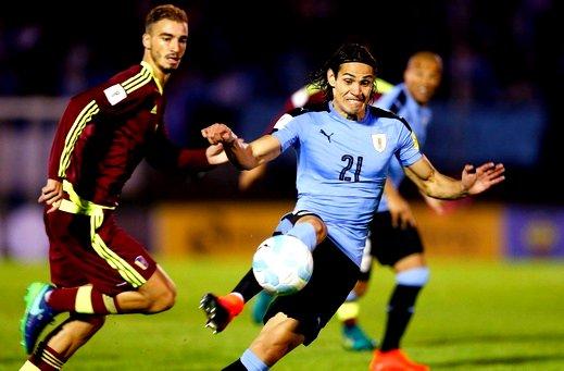 مباراة اوروجواي وفنزويلا في تصفيات كاس العالم لامريكا الجنوبيه