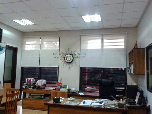 Window Roller Shade installed in Taguig City