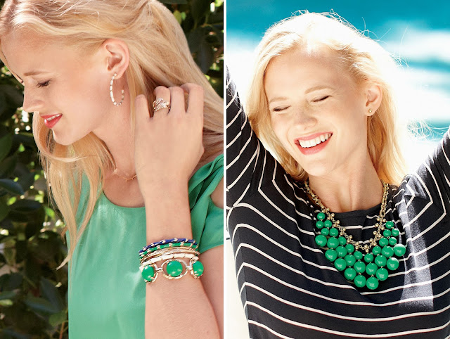Spring Into Style with Julie Link, Independent Stella & Dot Stylist www.lovegrowswild.com #spring #style #jewelry
