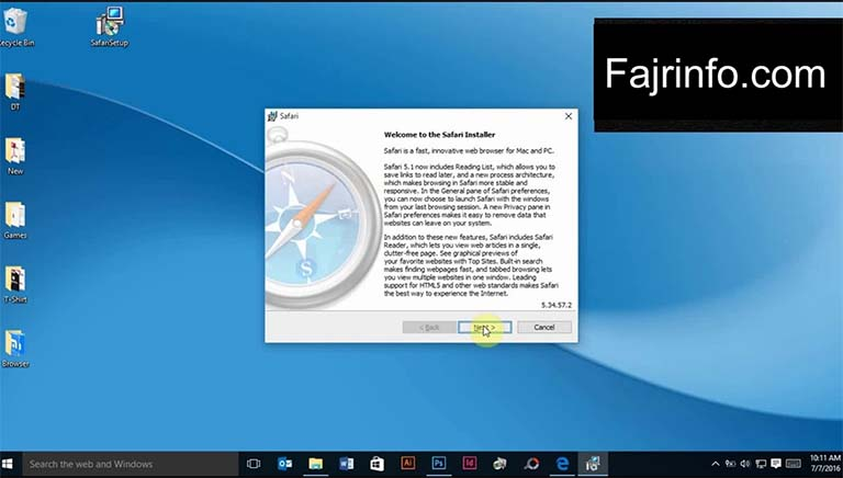 Cara Memasang Browser Safari Di Windows 10
