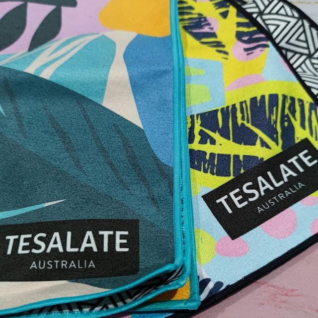 Tesalate Antibacterial Workout Towels