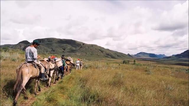 O Vale do Pati é um dos locais mais buscados por trilheiros e continua fechado para visitação (Foto: TV Bahia)