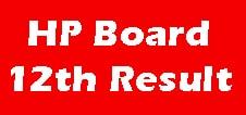 HP Board 12th Result