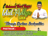 Download Spanduk Qurban Idul Adha 1440 H Format CDR
