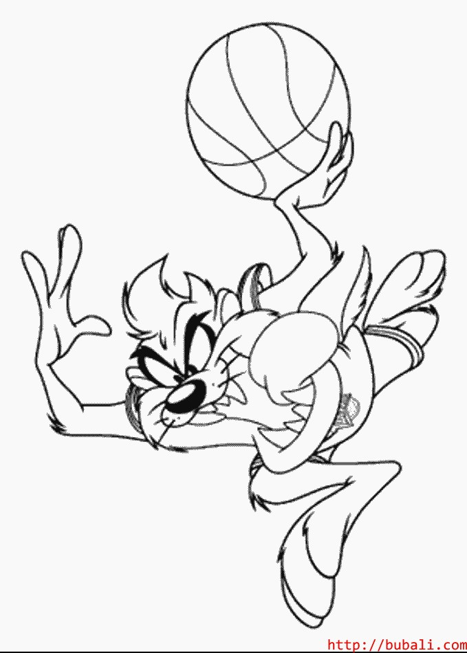 Y Taz Coloring Pages
