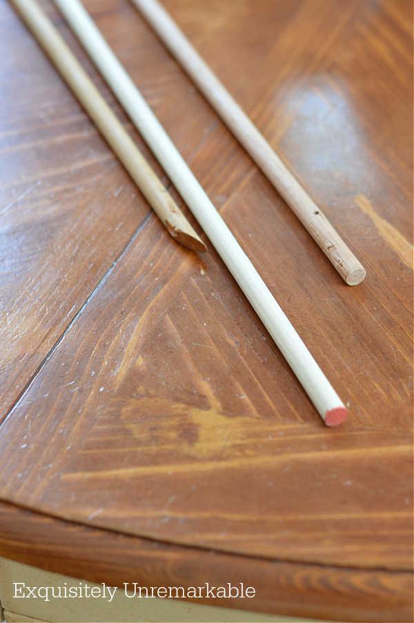 Round Wooden Dowels