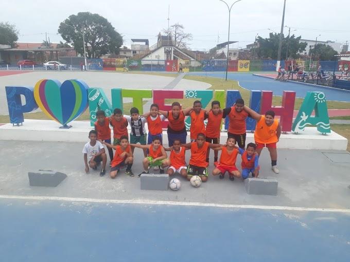 Conheçam a Escolinha EAS Futsal um projeto voluntário focado nas crianças e adolescentes de Pontezinha Cabo-Pe