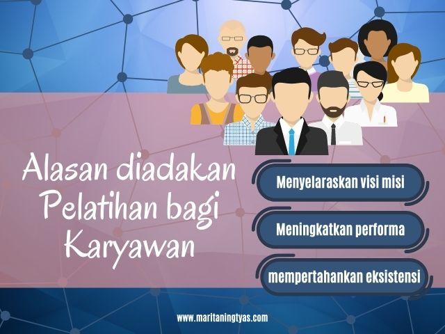alasan pemberian pelatihan bagi karyawan