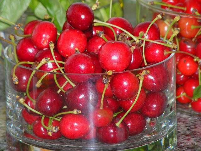 Cherries. Photo by Loire Valley Time Travel.
