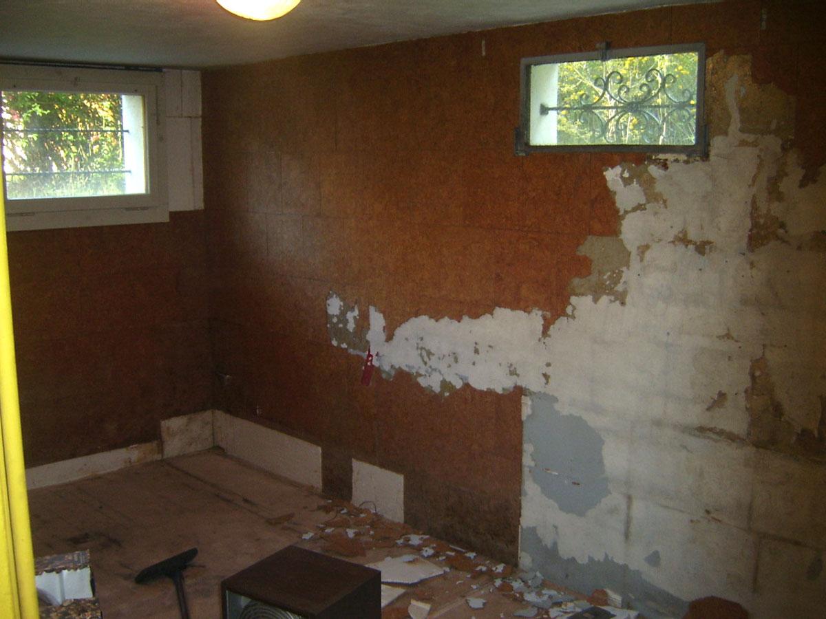 Humidite Qui Remonte Par Le Carrelage rénovation de ma villa: première chambre, un essai