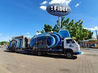 transporte de piscinas de fibra