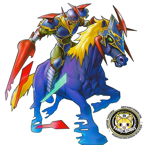 Render Gaia The Fierce Knight