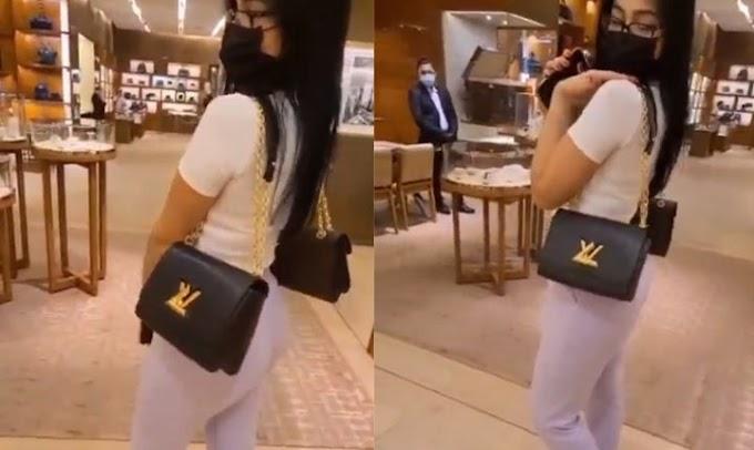 El lujoso regalo de Yomil a Daniela Reyes, bolso Louis Vuitton, ahora se suma a la más reciente pelea de la pareja