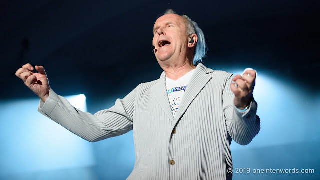 Howard Jones at The Bandshell at The Ex 2018 on August 22, 2019 Photo by John Ordean at One In Ten Words