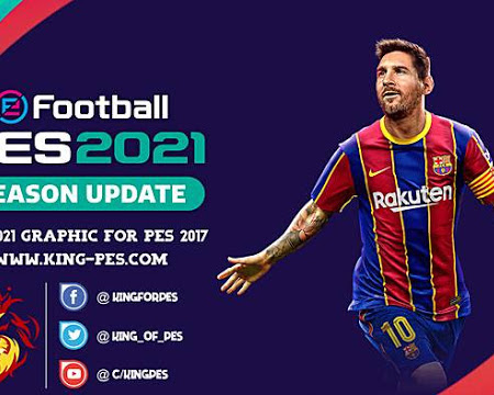 PES 2017 New Graphic Menu PES 2021