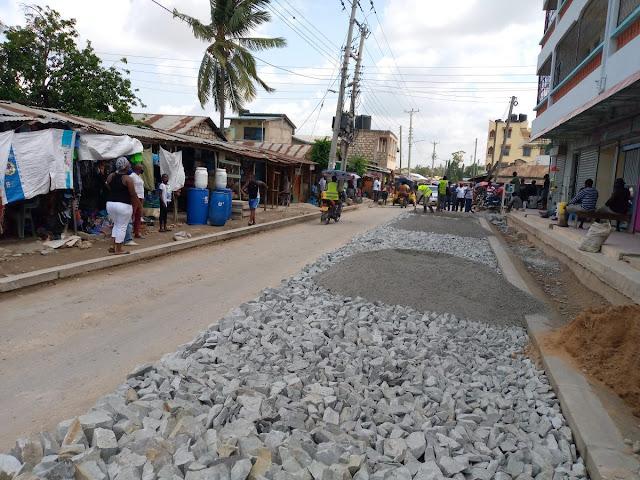Mikindani road around photo