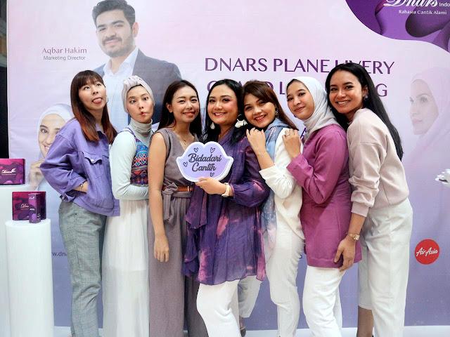 DNARS PLANE LIVERY
