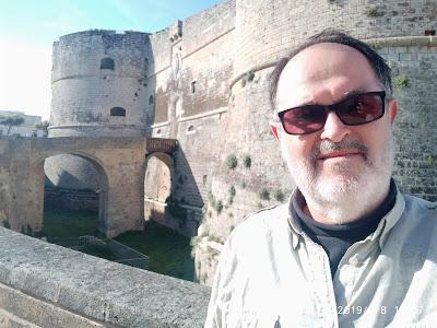 Castillo Aragonés en Otranto, Lecce, Italia