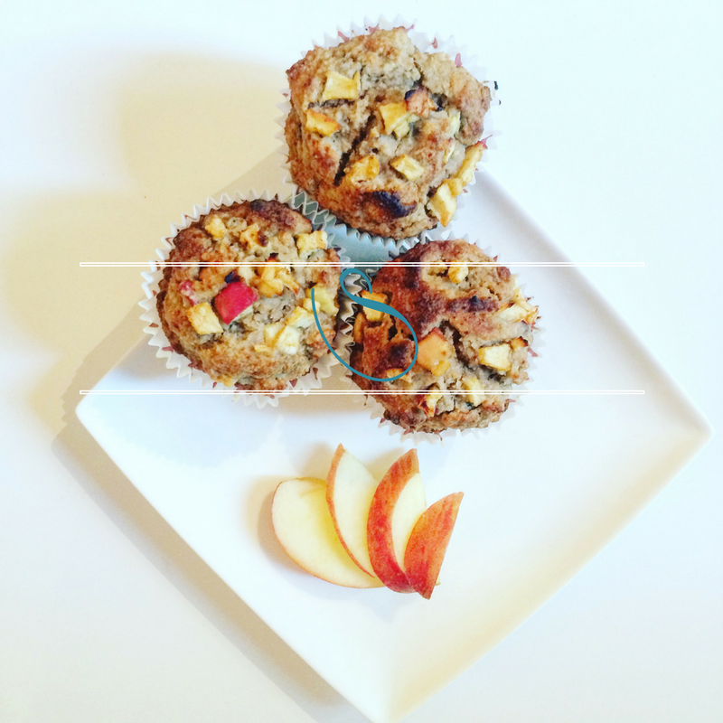 #Apple & cinnamon healthy muffins | Muffins pommes & cannelle healthy | Vegan