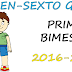 EXAMEN PARA PRIMER BIMESTRE-SEXTO GRADO (2016-2017)