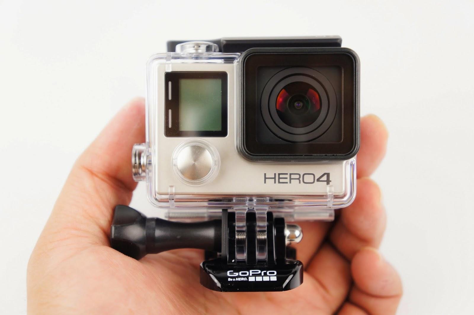 [開箱] GoPro HERO 4 銀色版 當個英雄吧! GoPro%2BHERO4-9