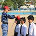 Penutupan Latihan Bela Negara Mahasiswa Baru Unsa  Di Lanud Adi Soemarmo