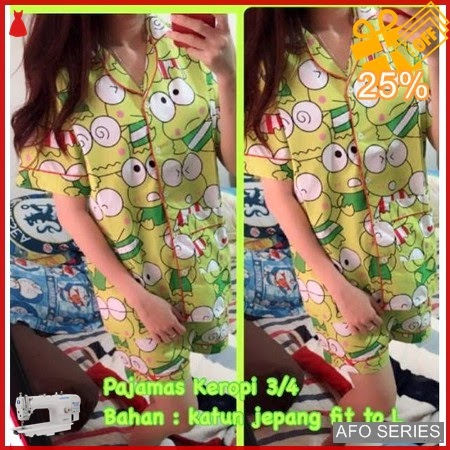 AFO464 Model Fashion Pajamas Keropi Modis Murah BMGShop