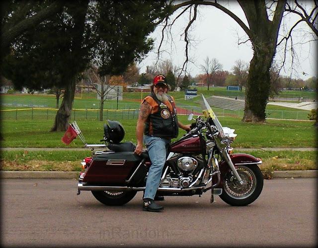 War Veteran on Bike